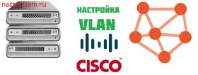 Настройка Vlan Cisco 2960